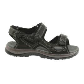 Velcro sandaalit valo EVA DK musta