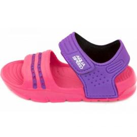 Aqua-speed sandaalit Noli vaaleanpunainen violetti col.39