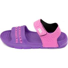 Sandaalit Aqua-Speed Noli violetti vaaleanpunainen Lapset 93