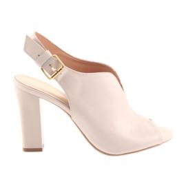 Sandaalit postin Espinto 195 jauhe vaaleanpunainen pinkki