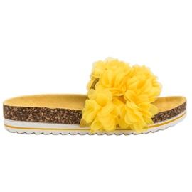 Seastar keltainen Muodikkaat keltaiset tossut