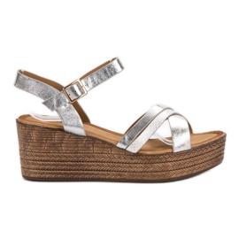 Seastar Kevyt sandaalit kiilassa harmaa