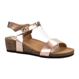 Seastar keltainen Lakattuja sandaaleja