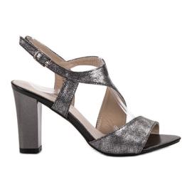 Goodin harmaa Silver Sandals