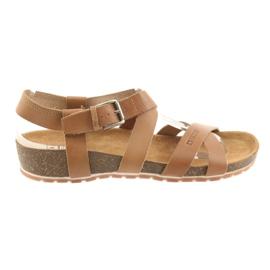 Ruskea Big Star Naisten kamelin kengät 274A010
