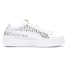 Valkoinen Puma Vikky Stacked Laser Cut 369378 02 kengät
