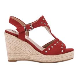 Kylie punainen Sandaalit suihkukoneilla