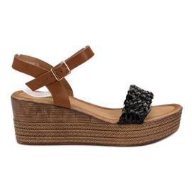 Seastar musta Kevyet sandaalit