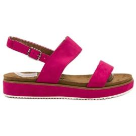 Goodin pinkki Fuchsia-sandaalit