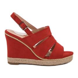 Primavera punainen Punaiset sandaalit