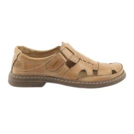 Naszbut ruskea Täydelliset sandaalit 968 beige