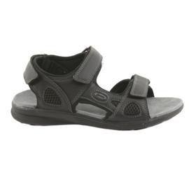American Club American Youth Sports Sandals HL08 cz musta