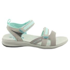 Tytön sandaalit American Club HL12 harmaa