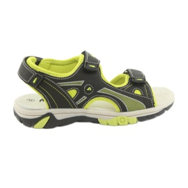 American Club RL22 poikien sandaalit musta