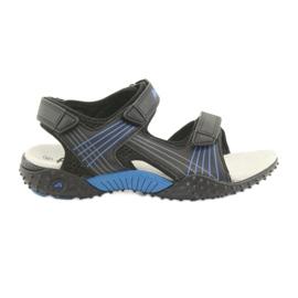 American Club HL15 poikien sandaalit musta