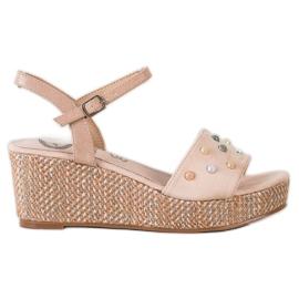 Aclys ruskea Rento kiila sandaalit