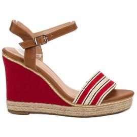 Primavera punainen Rento kiila sandaalit