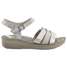 Evento harmaa Silver Sandals