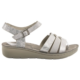 Evento Silver Sandals harmaa