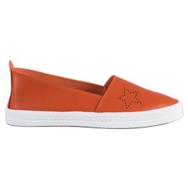 Kylie Slip-on-tennarit oranssi