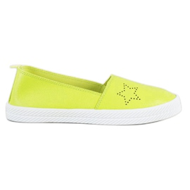 Kylie Slip-on-tennarit vihreä