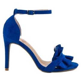 Kylie sininen Sandaalit pinalla