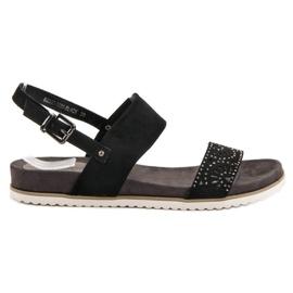 Evento Musta aukko sandaalit