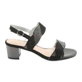 Sandaalit Sergio Leone SK795: n postitse musta