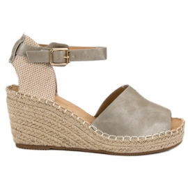 Evento harmaa Rento kiila sandaalit