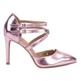 Kylie pinkki Shiny Fashion Studs