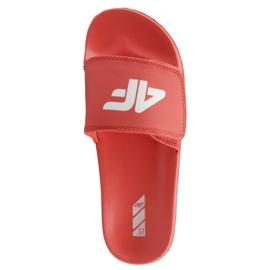 Tossut 4F Jr J4L19-JKLD200 62S punainen