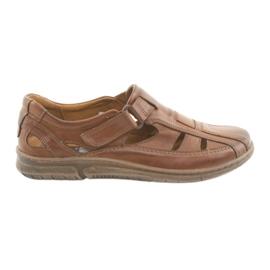 Riko 458 ruskeat miesten mukavat sandaalit