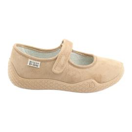 Ruskea Befado naisten kengät pu - young 197D004