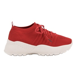 Lattiat VICES Sneakers punainen