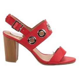 Kylie punainen Punaiset korkokengät