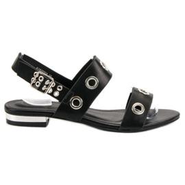 Kylie Rento mustat sandaalit