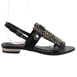 Kylie Musta Naisten Sandaalit