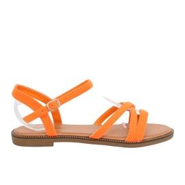 Naisten sandaalit oranssi WL255 Oranssi