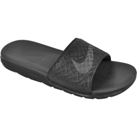 Musta Tossut Nike Sportswear Solarsoft Benassi M 705474-091