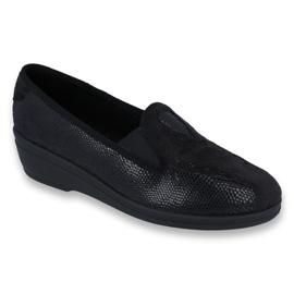 Musta Befado naisten kengät pu 035D002