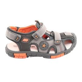 American Club Sandalka-kengät, joissa on amerikkalainen DR02-nahkasisä