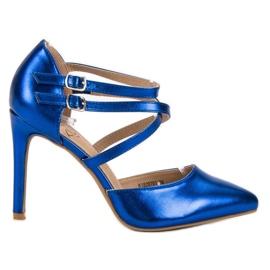 Kylie sininen Shiny Fashion Studs