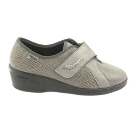Befado naisten kengät pu 032D003 harmaa