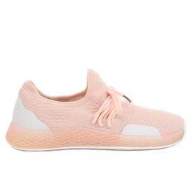 Pinkki Vaaleanpunaiset urheilukengät B-6851 Pink
