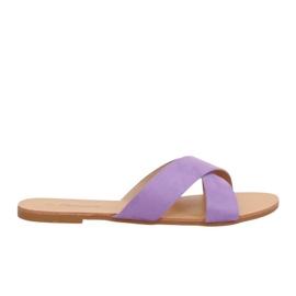 Naisten tossut violetti 930 Purple