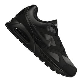 Musta Nike Air Max Ivo Nahka M 580520-002 kengät