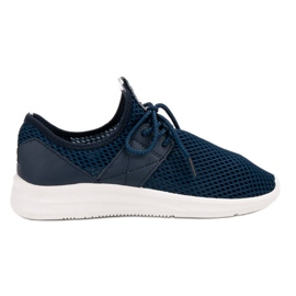 Lovery sininen Airy Sports Shoes