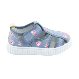 American Club American kengät lasten kengät tarranauhalla
