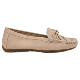 SHELOVET ruskea Casual loafers