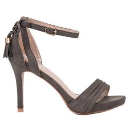 Harmaat sandaalit VINCEZA